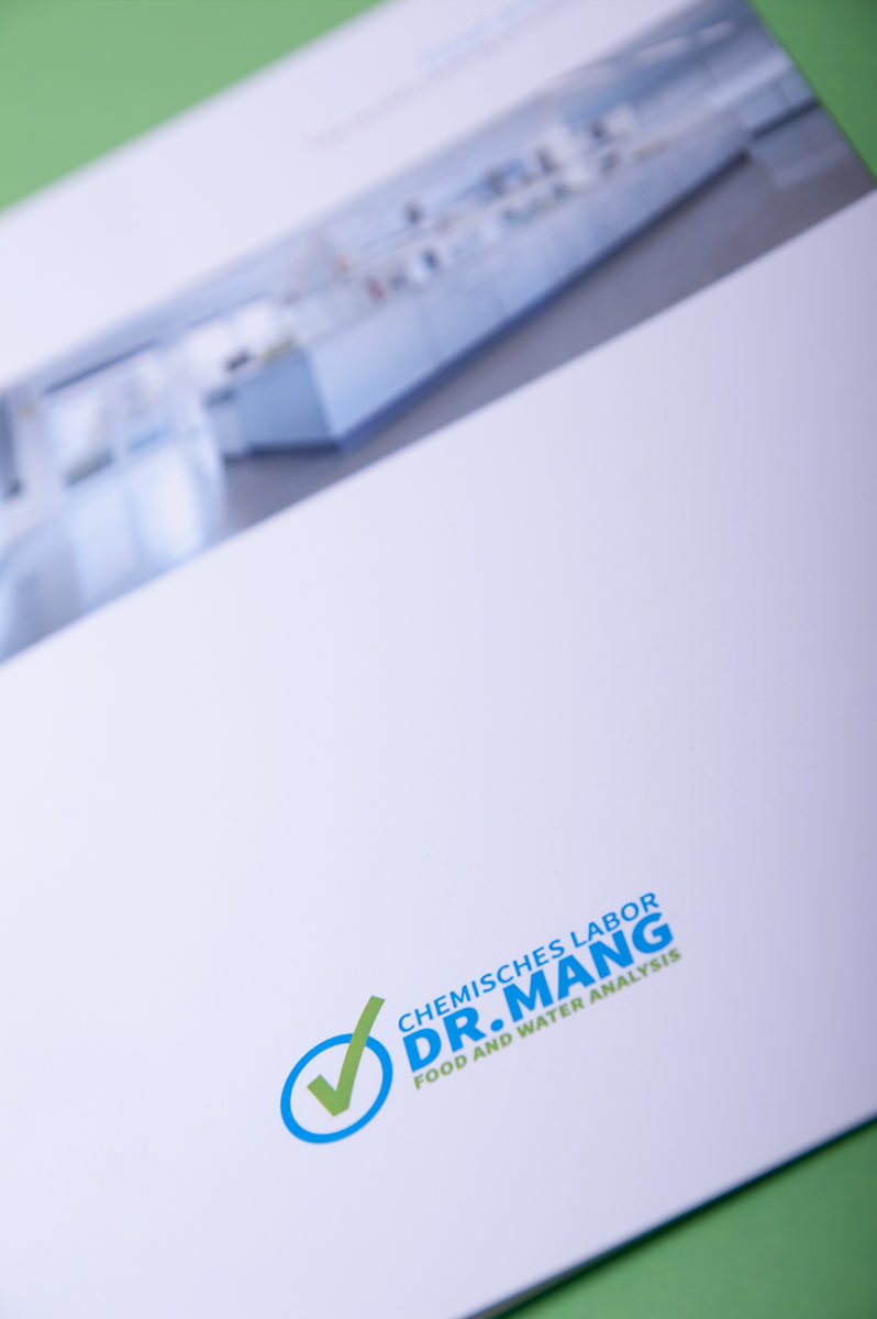 Corporate Design | Chemisches Labor Dr. Mang