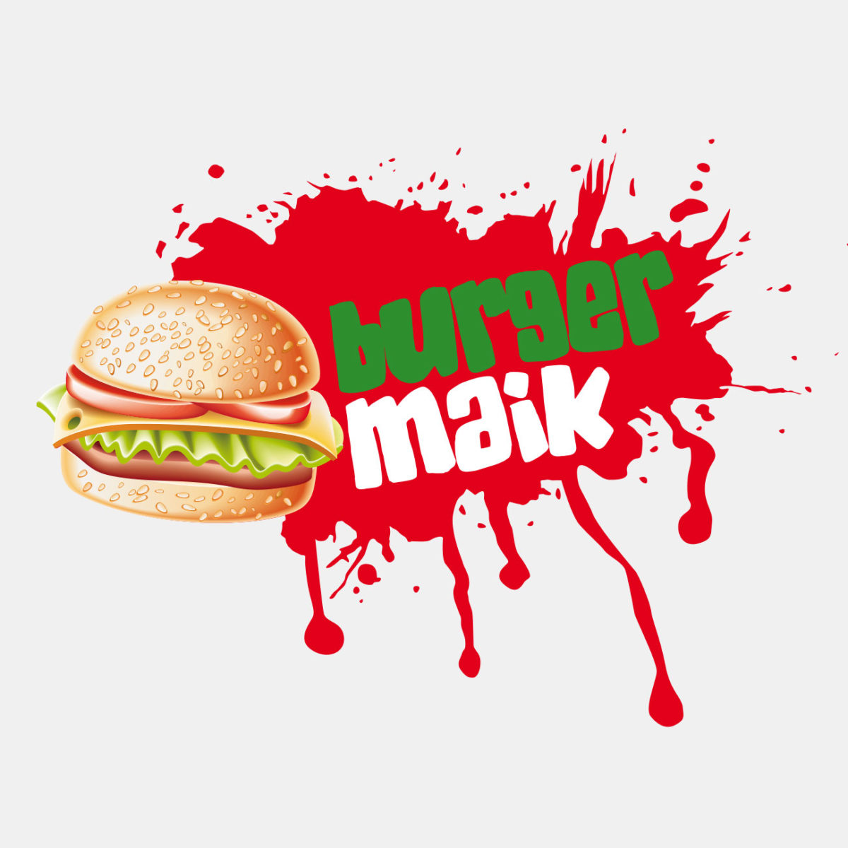 Burgermaik Logodesign