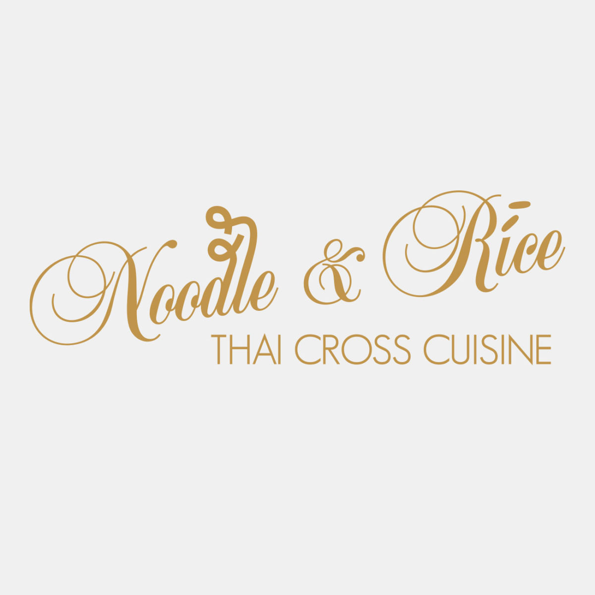 Nopodle & Rice Logodesign