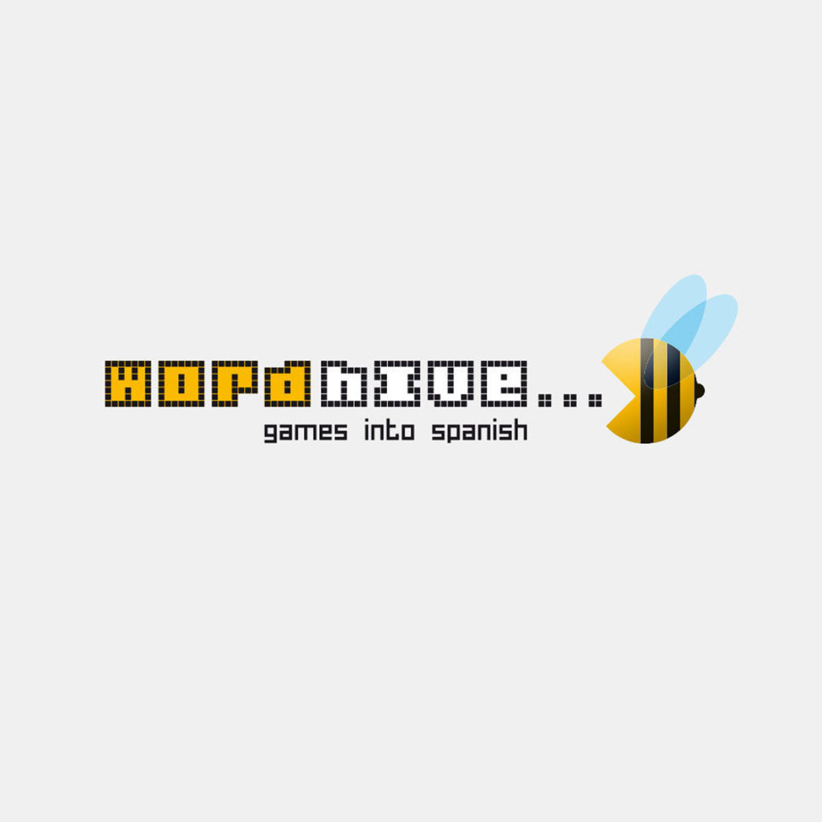 goldnbold_logodesign_wordhive_games_into_spanish