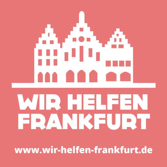 Logo und Webdesign: Wir helfen Frankfurt 2
